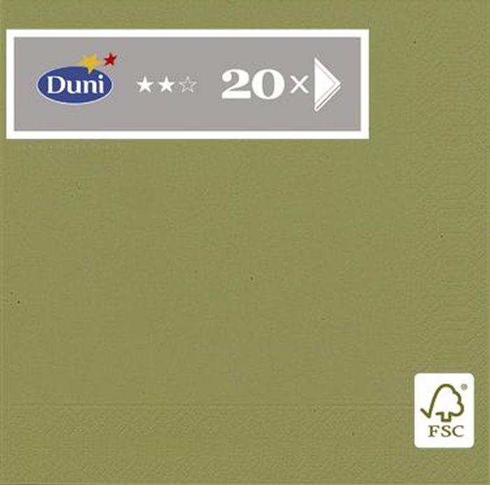 Салфетки бумажные Duni Herbal, 3-слойные, 33 х 33 см, 20 шт бумажные салфетки duni салфетки бумажные 3 слойные 33 х 33 см белые 20 шт