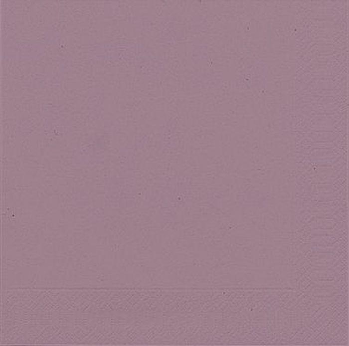 Салфетки бумажные Duni, 3-слойные, цвет: сиреневый, 33 х 33 см165353Трехслойные бумажные салфетки изготовлены из экологически чистого, высококачественного сырья - 100% целлюлозы. Салфетки выполнены в оригинальном и современном стиле, прекрасно сочетаются с любым интерьером и всегда будут прекрасным и незаменимым украшением стола.