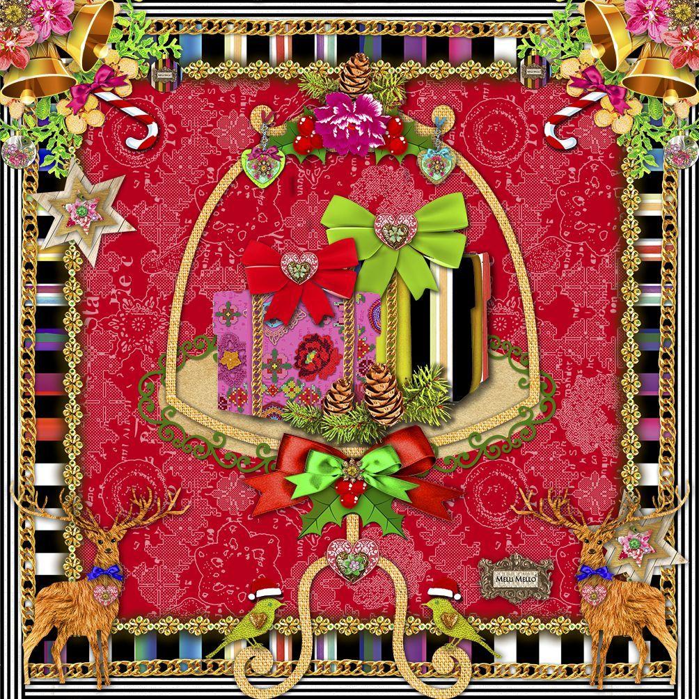 Салфетки бумажные Duni, 3-слойные, цвет: красный, 33 х 33 см. 169311 бумажные салфетки duni салфетки 3 сл 33 см