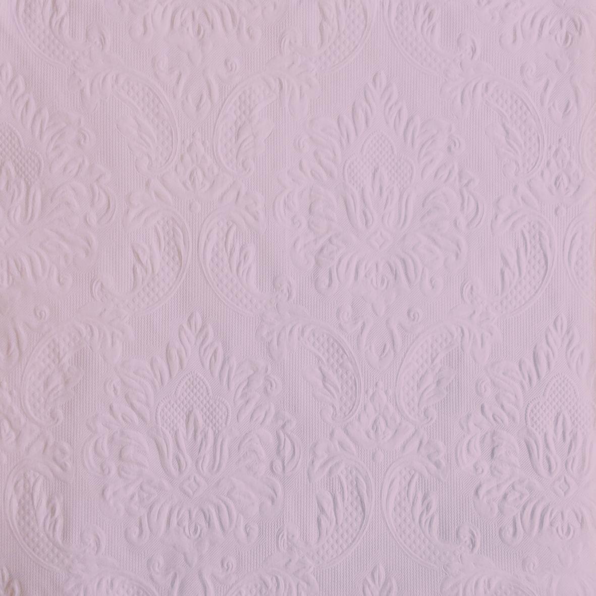Салфетки бумажные Duni, 3-слойные, с тиснением, цвет: розовый, 33 х 33 см, 20 шт170907Трехслойные бумажные салфетки Duni изготовлены из экологически чистого, высококачественного сырья - 100% целлюлозы. Они выполнены в оригинальном и современном стиле, прекрасно сочетаются с любым интерьером и всегда будут прекрасным и незаменимым украшением стола. Размер салфеток: 33 х 33 см.