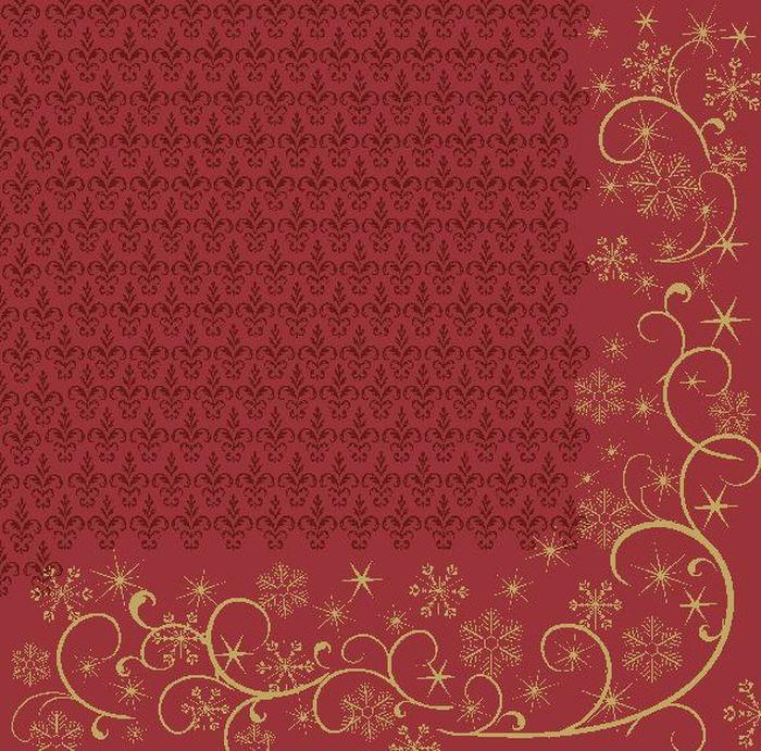 Салфетки бумажные Duni Lin Soft, цвет: красный, 40 см171821Трехслойные бумажные салфетки изготовлены из экологически чистого, высококачественного сырья - 100% целлюлозы. Салфетки выполнены в оригинальном и современном стиле, прекрасно сочетаются с любым интерьером и всегда будут прекрасным и незаменимым украшением стола.