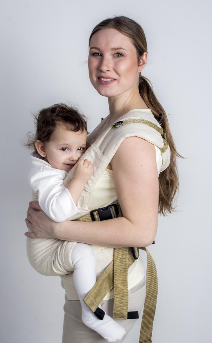 Мамарада Рюкзак-переноска Натур размер 42-52 платья мамарада платье