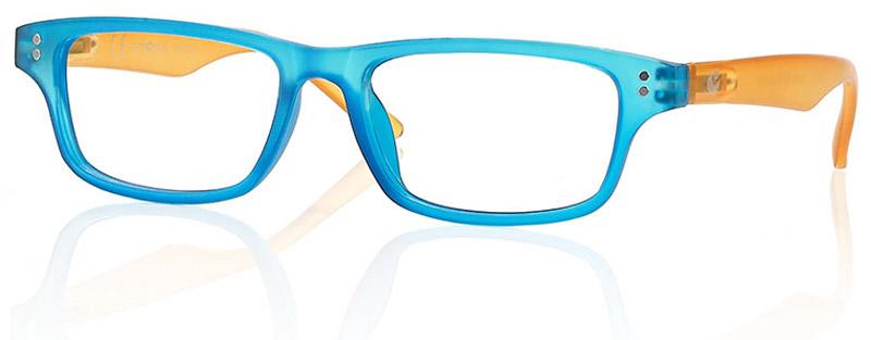 CentroStyle Очки для чтения +2.00, цвет: голубой нате маяковские чтения