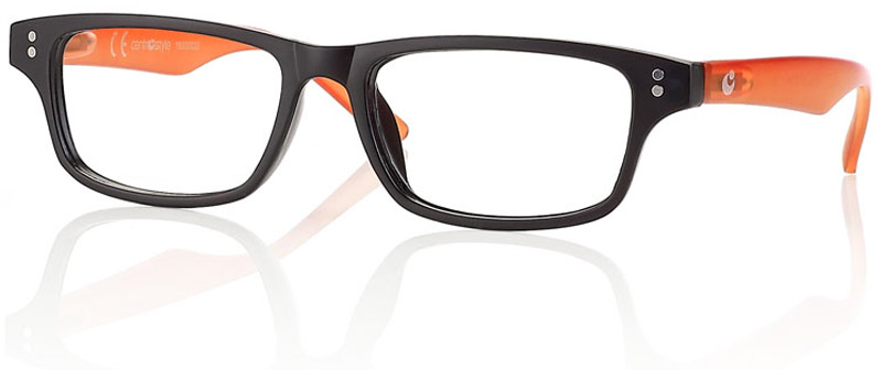 CentroStyle Очки для чтения +2.00, цвет: черный
