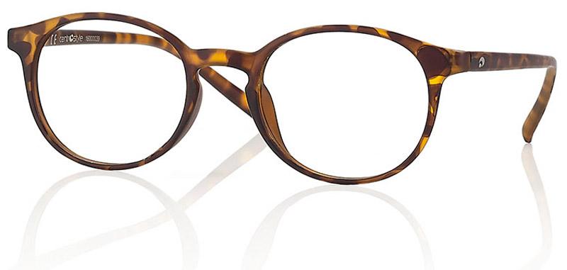 CentroStyle Очки для чтения +2.50, цвет: коричневый