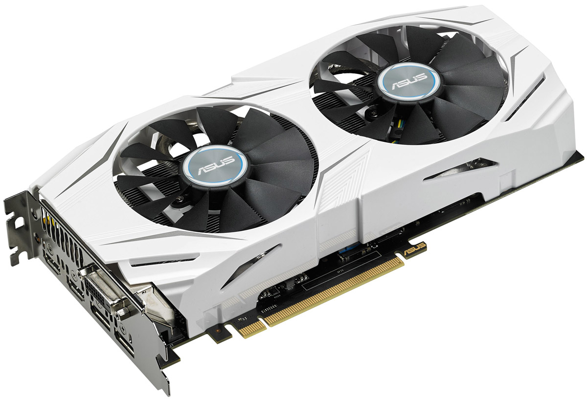 ASUS Dual GeForce GTX 1070 O8G 8GB видеокарта