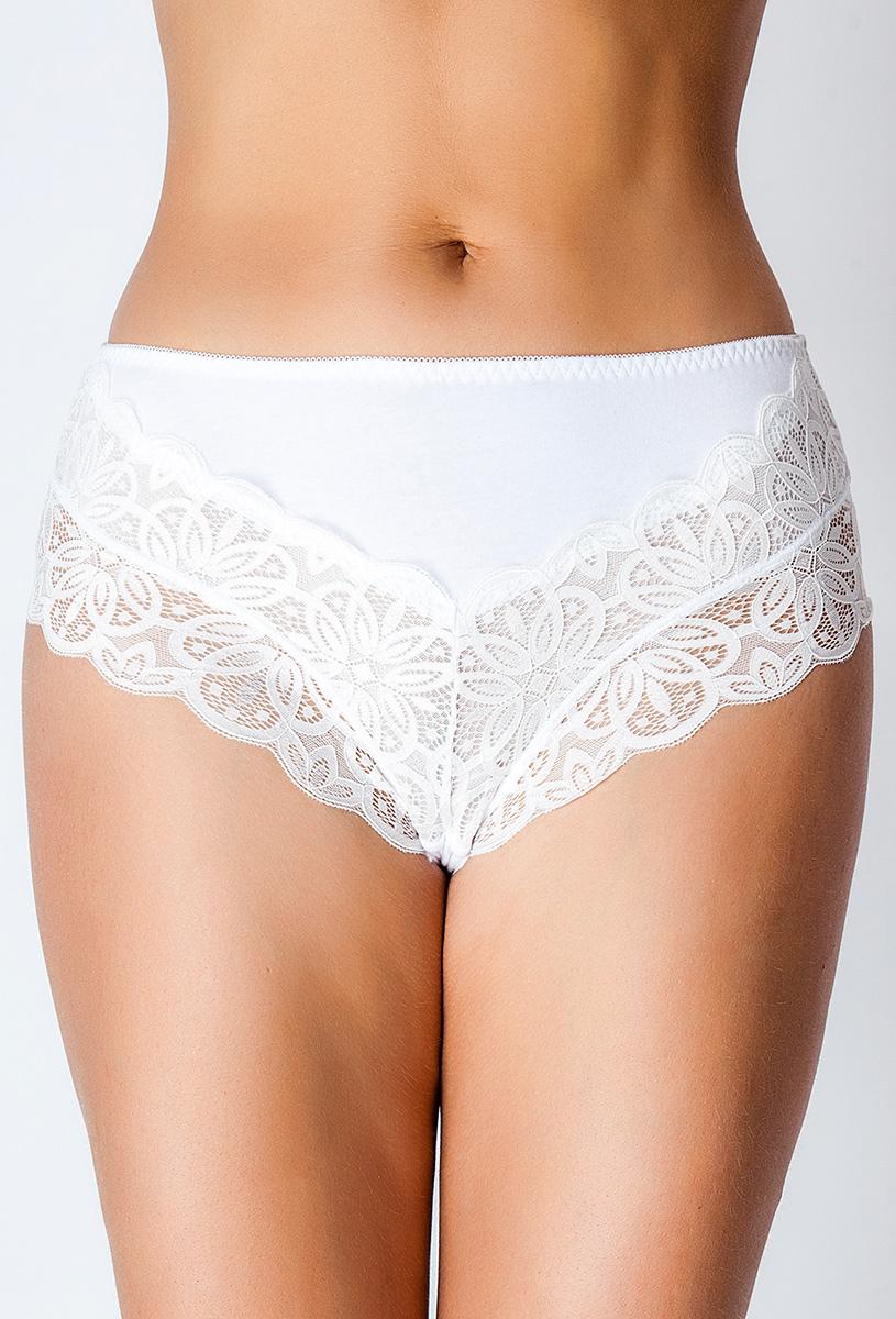 Трусы женские Vis-A-Vis, цвет: белый. DM1246. Размер XXXL (54) цены онлайн