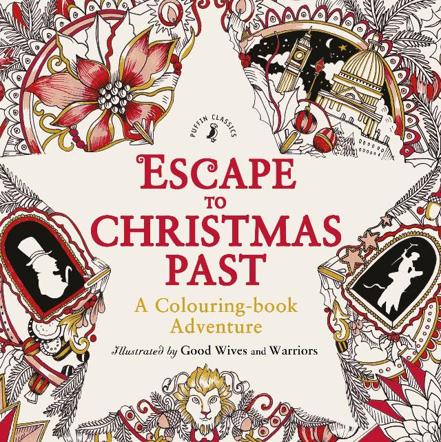 Escape to Christmas Past: A Colouring Book Adventure millie marotta s tropical wonderland a colouring book adventure