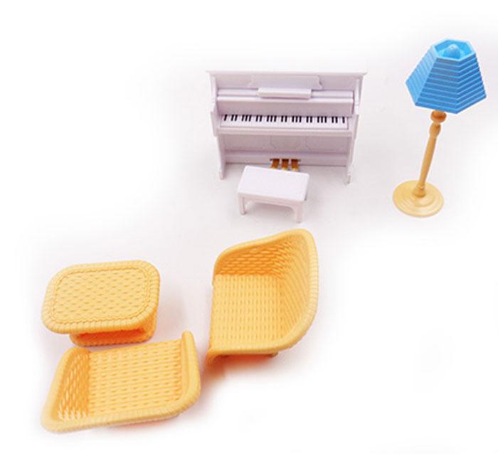 ABtoys Мебель для кукол Гостиная 6 предметов игровые наборы игруша игровой набор кухня