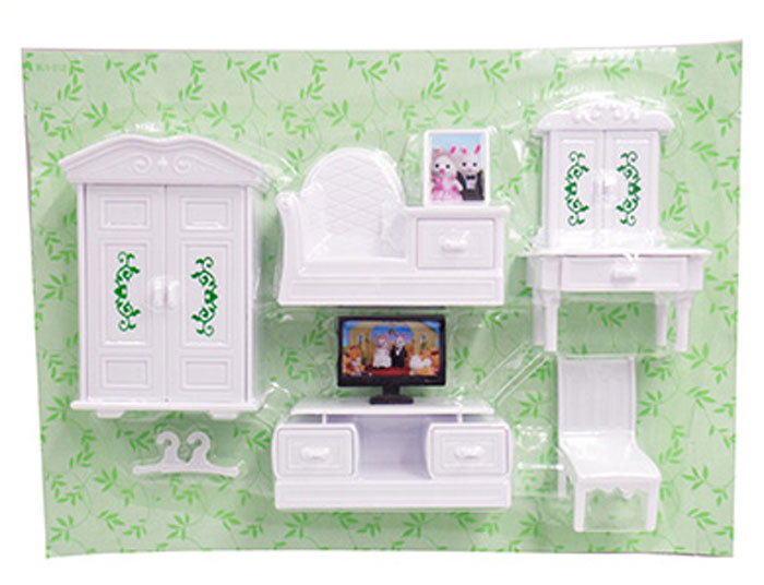 Abtoys Мебель для кукол Счастливые друзья Для гостиной 8 предметов abtoys со стрелами на присосках