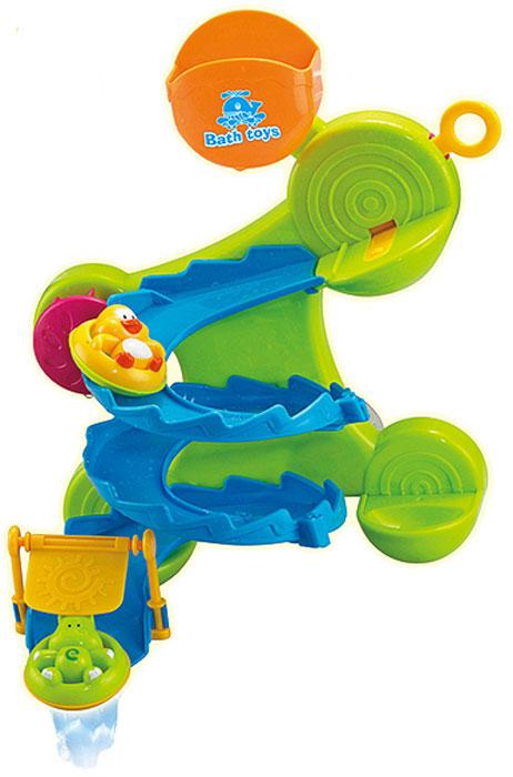 Abtoys Игрушка для ванной Веселое купание Горка тижекс горка для ванной анатомическая голубая
