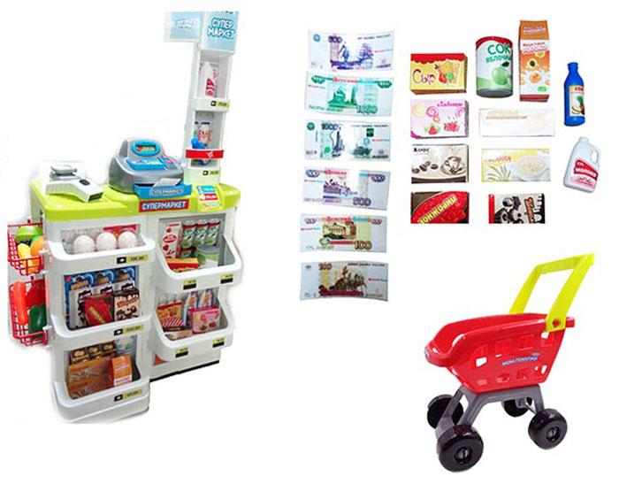 ABtoys Игрушечный набор Супермаркет - Сюжетно-ролевые игрушки