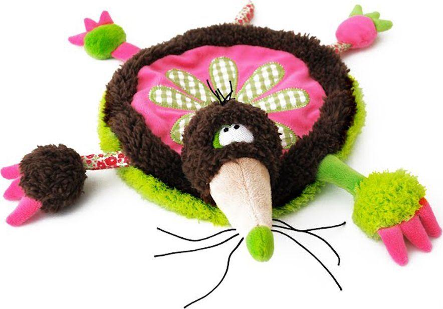 Deglingos Игрушка развивающая 2D Веселый Огород Кротик-Пауль deglingos baby мягкая игрушка собачка nanos