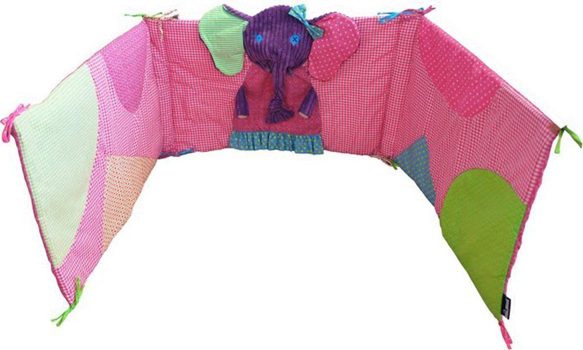 Deglingos Защитный барьер для кроватки Слоненок Sandykilos baby safe барьер защитный для кроватки цвет синий 120 х 42 см