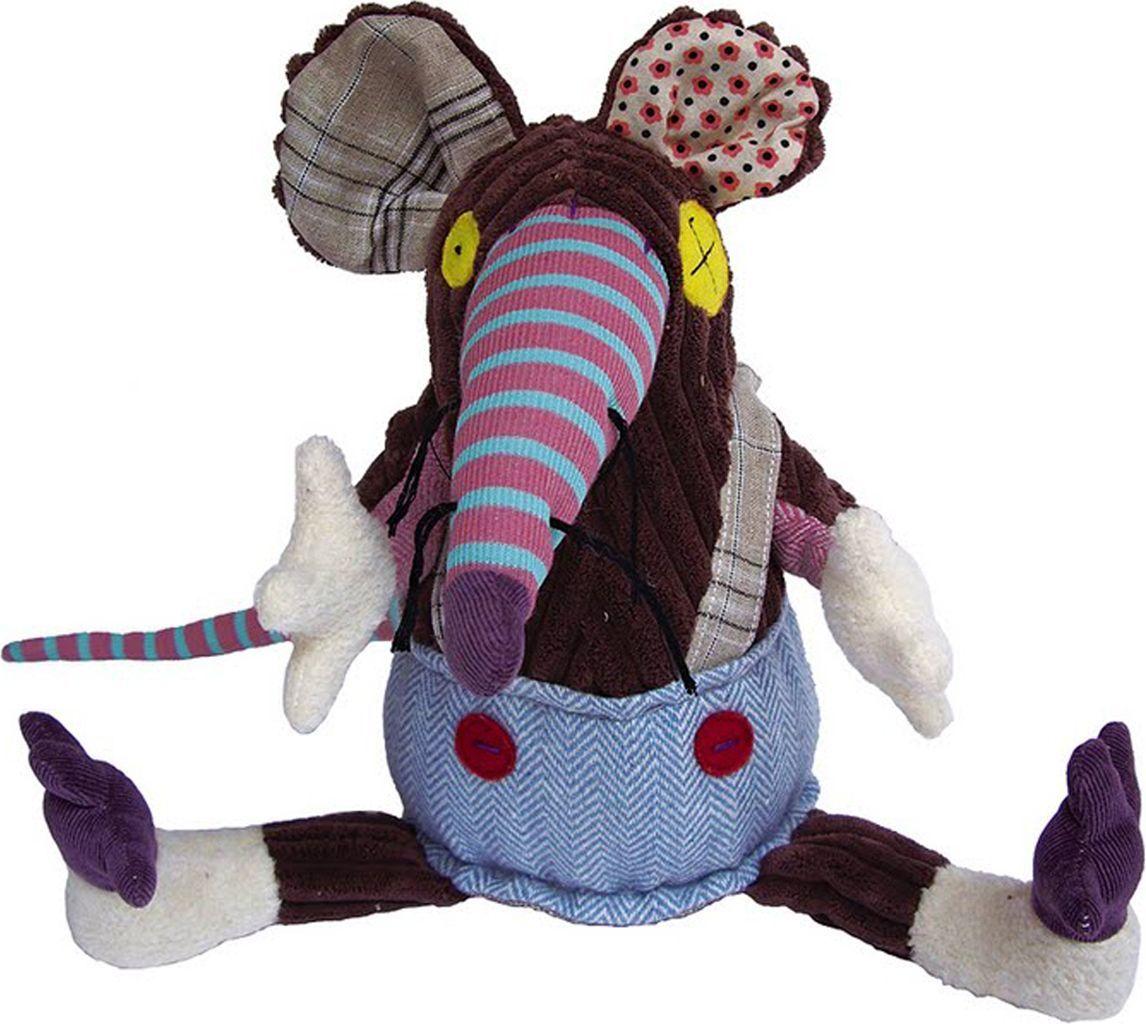 Deglingos Original Мягкая игрушка Крыска Ratos deglingos baby мягкая игрушка собачка nanos