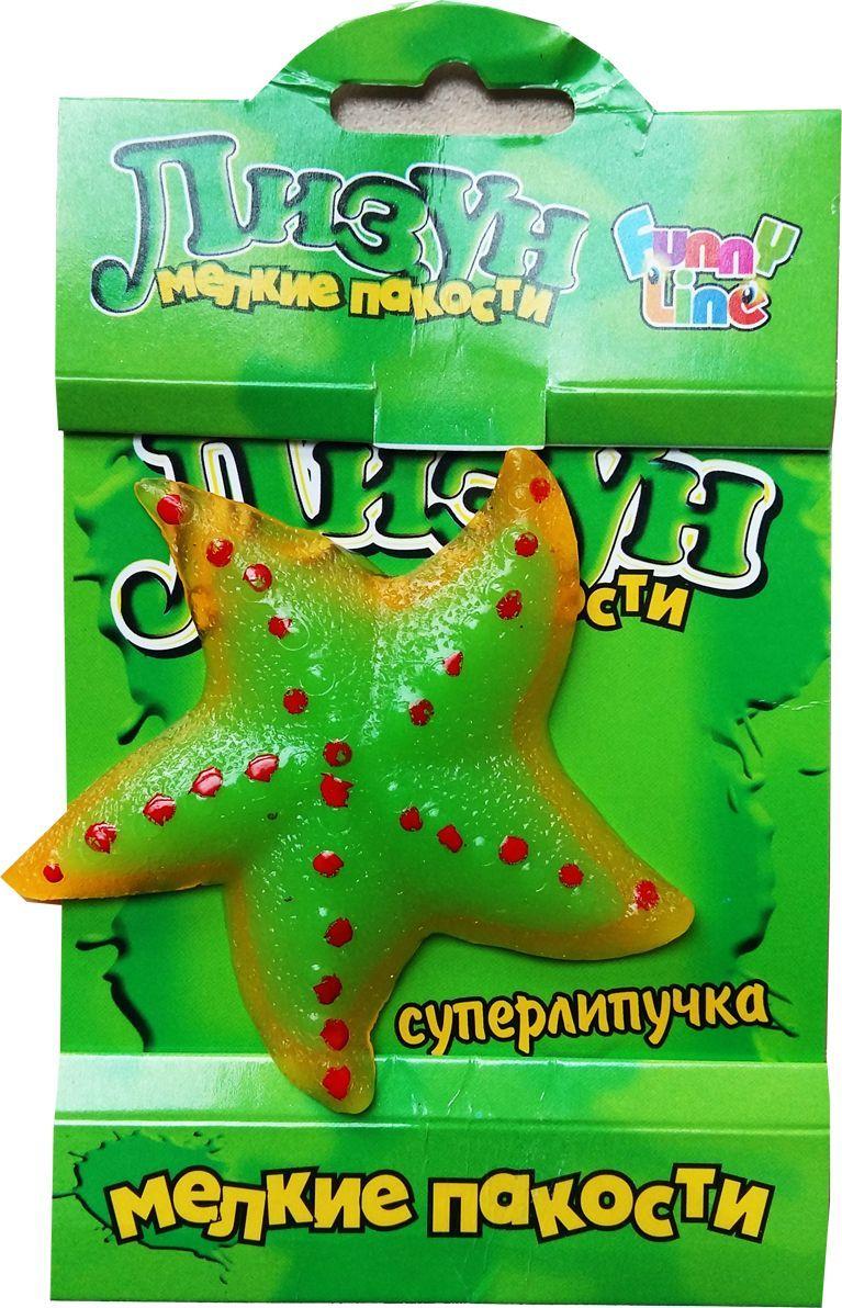 Funny Line Nano Лизун Морская Звезда игрушка funny line nano лизун обезьянка cs1096