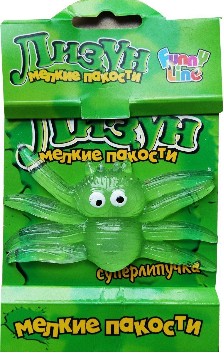 Funny Line Nano Лизун Светящийся паук игрушка funny line nano лизун обезьянка cs1096