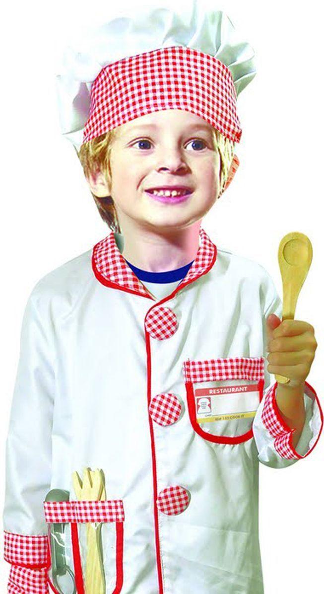 Город игр Карнавальный костюм для мальчика Повар с аксессуарами