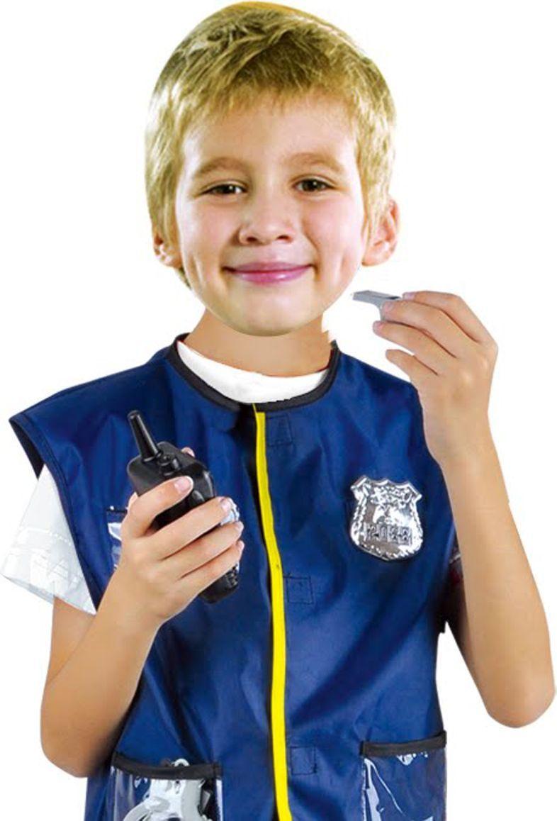 Город игр Карнавальный костюм для мальчика Полицейский с аксессуарами