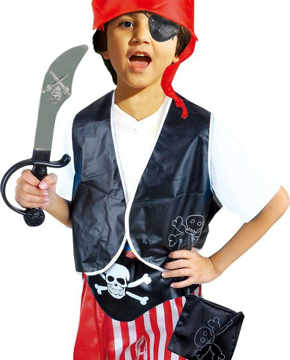 Город игр Карнавальный костюм для мальчика Пират с аксессуарами