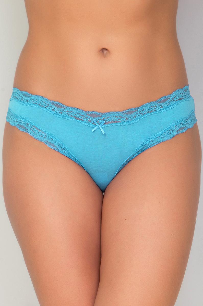 Трусы женские Vis-A-Vis, цвет: голубой. DSL1131. Размер L (48) трусы бразильяна женские vis a vis цвет бежевый dsl1227 размер s 44
