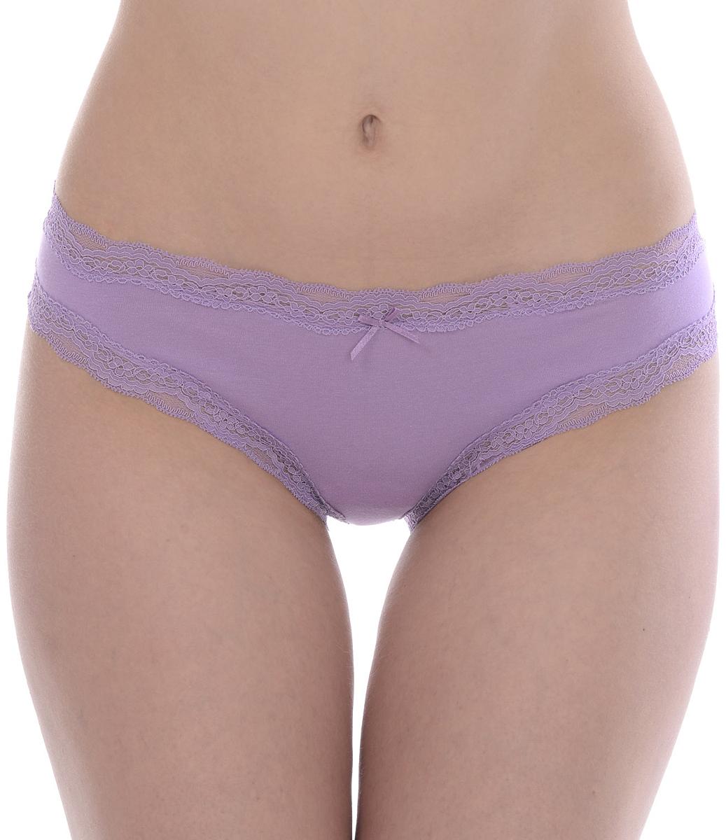 Трусы женские Vis-A-Vis, цвет: лиловый. DSL1131. Размер L (48) брюки vis a vis vis a vis vi003ewazyu3