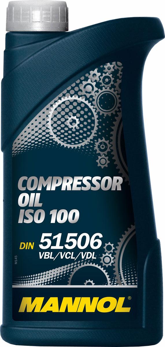 Масло моторное MANNOL Compressor Oil, ISO 100, минеральное, 1 л1918Моторное масло Mannol Compressor Oil ISO 100 - минеральное масло, предназначенное для смазки воздушных компрессоров. Отличающие свойства: высокорафинированное масло на основе парафиновых масел; великолепная термостабильность, исключительная устойчивость к окислению; минимальное образование осадков и отложений, гарантирующее чистоту всех механических деталей; предотвращает риск пожара или взрыва; прекрасные антикоррозионные свойства; низкая испаряемость. Применение: воздушные компрессоры, ротационные компрессоры с масляным впрыском, ротационные сухие компрессоры и центрифужные компрессоры, замкнутые гидравлические системы с применением беззольных масел. Продукт имеет допуски / соответствует спецификациям / продуктам: DIN 51 506 VBL, VCL & VDL, ISO 100, ISO L DAA, DAB, DAG & DAH.Вязкость при 100°C: 10,56 CSt.Вязкость при 40°C: 91,56 CSt.Индекс вязкости: 97.Плотность при 15°C: 888 kg/m3.Температура вспышки COC: 216 °C.Температура застывания: -25 °C.ISO-класс: 100.Товар сертифицирован.
