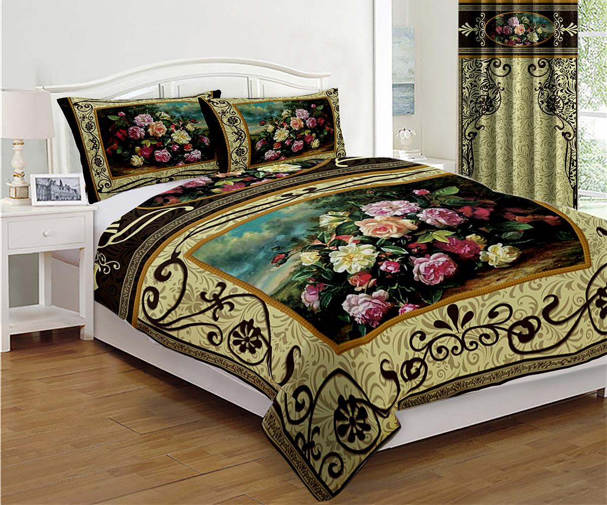 Покрывало МарТекс Дикая роза, 150 х 200 см05-0562-1Покрывало МарТекс станет изысканным дополнением интерьера спальни. Яркое покрывало изготовлено из качественного полиэстера.Покрывало не только согреет, но и создаст неповторимый уют в вашей спальне. Мягкий, теплый, приятный на ощупь материал делает покрывало хорошей заменой пледу.