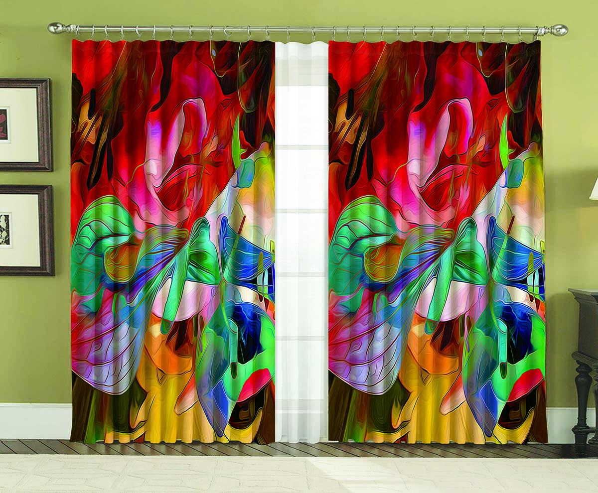 Комплект штор МарТекс Модерн, цвет: мультиколор, высота 270 см16-0119-1Комплект штор МарТекс Модерн, выполненный из качественного габардина, великолепно украсит любое окно. Ткань с печатным оригинальным рисунком привлечет к себе внимание и органично впишется в интерьер помещения. Этот комплект будет долгое время радовать вас и вашу семью! В комплекте 2 шторы: ширина - 150 см,высота - 270 см.