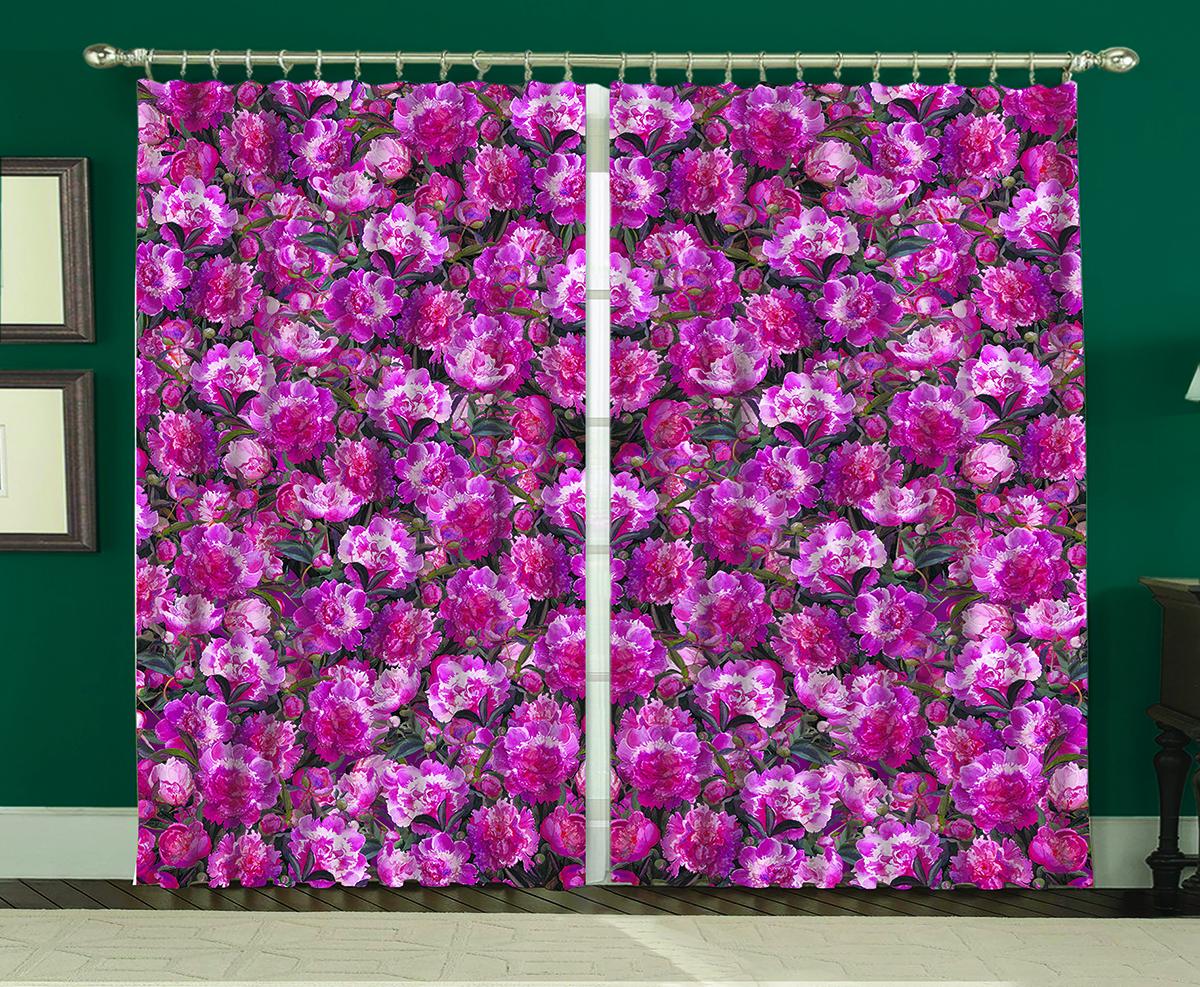 Комплект штор МарТекс Фиолетус, 150 х 270 см16-1098-1Комплект штор МарТекс, выполненный из качественного полиэстера, великолепно украсит любое окно. Комплект состоит из двух штор. Ткань с печатным оригинальным рисунком привлечет к себе внимание и органично впишется в интерьер помещения. Этот комплект будет долгое время радовать вас и вашу семью!В комплекте: 2 шторы.