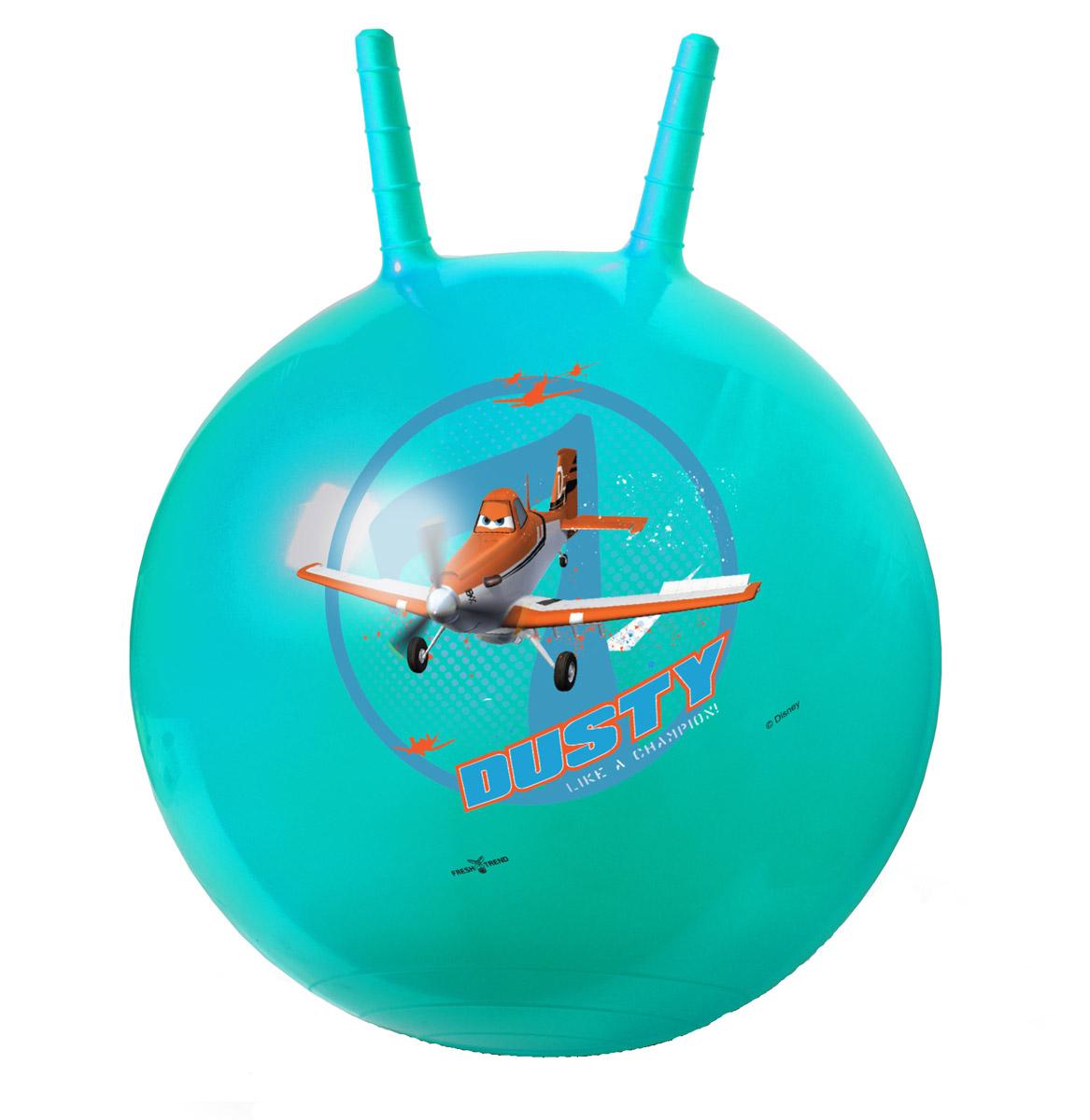 Fresh Trend Игрушка-попрыгун Мяч с рогами Самолеты 50 см