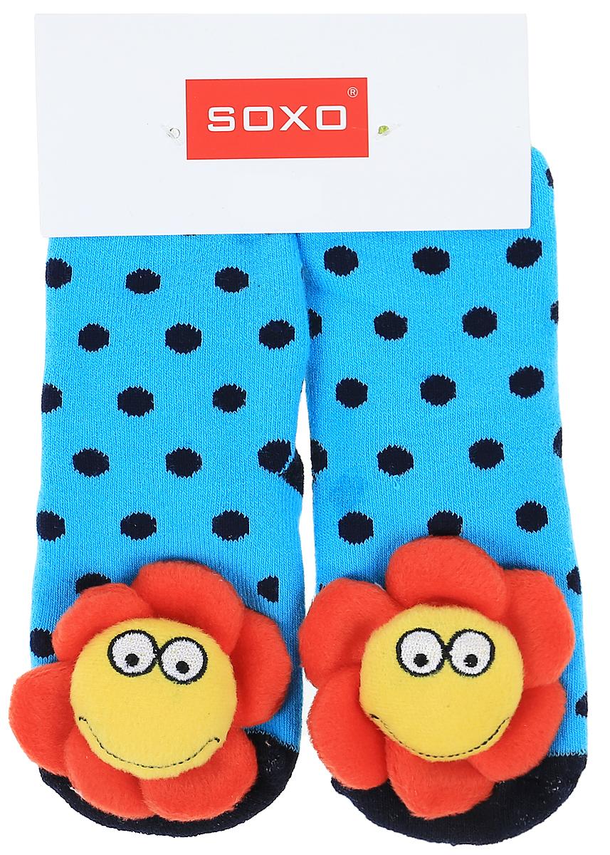 Носки детские Soxo, цвет: ярко-голубой. 68728_2. Размер 19/2168728_2