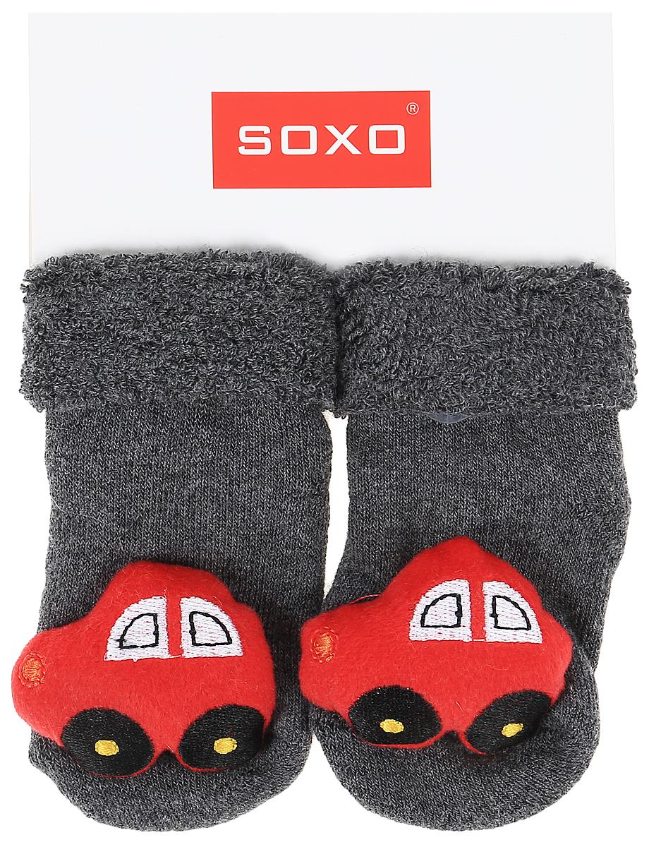 Носки детские Soxo, цвет: темно-серый. 77805_5. Размер 16/1877805_5