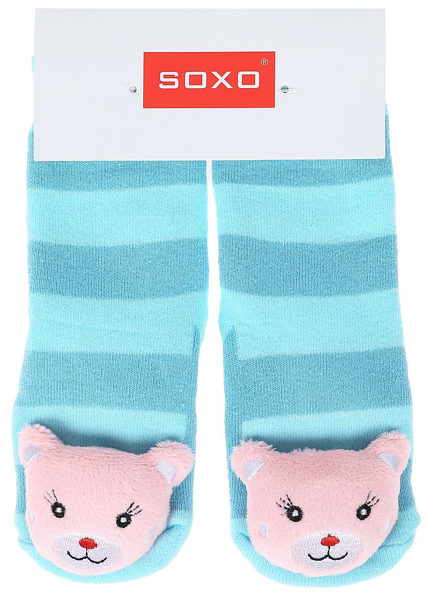 Носки детские Soxo, цвет: голубой. 77980_4. Размер 19/2177980_4