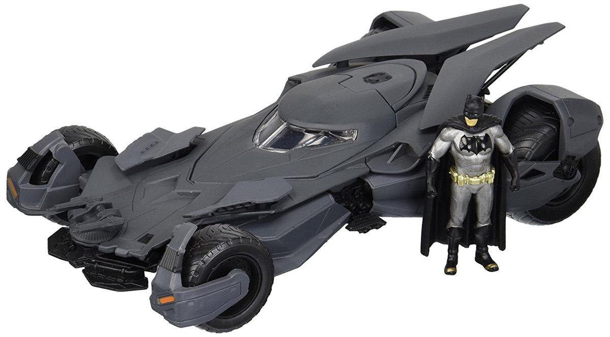 DC Comics. Набор фигурок Batmobile 2016 и Batman 1:24, Jada Toys Inc