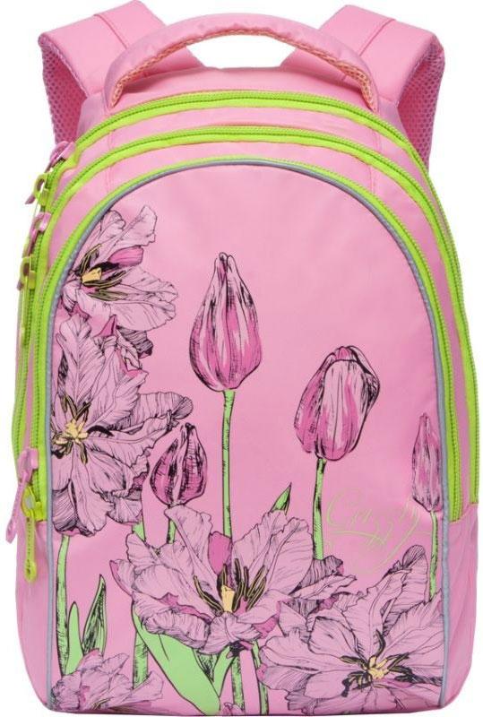 Grizzly Ранец школьный цвет розовый RG-767-1/4 pioneer x5600bt цена