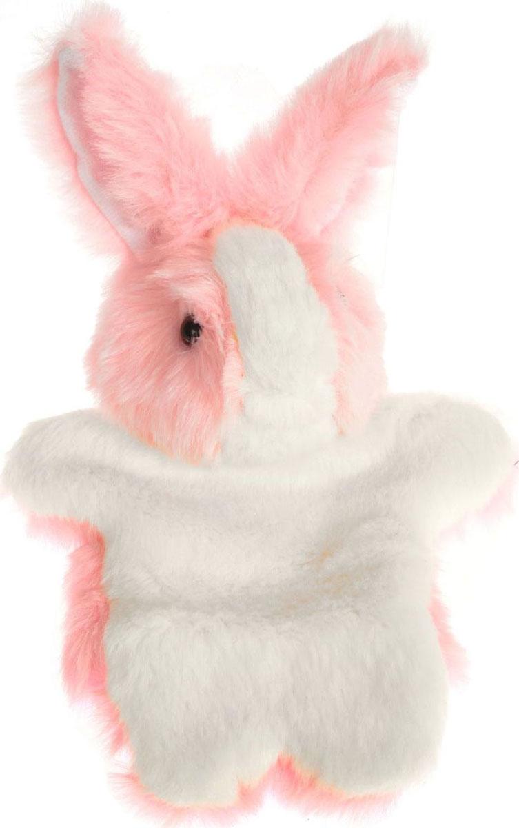 Sima-land Игрушка на руку Заяц цвет розовый белый кармашки на стену для бани sima land банные мелочи цвет белый 3 шт