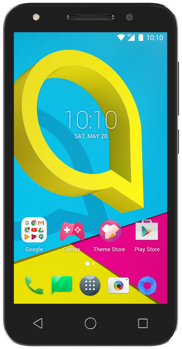 Alcatel OT-5044D U5, Cocoa Grey - Смартфоны