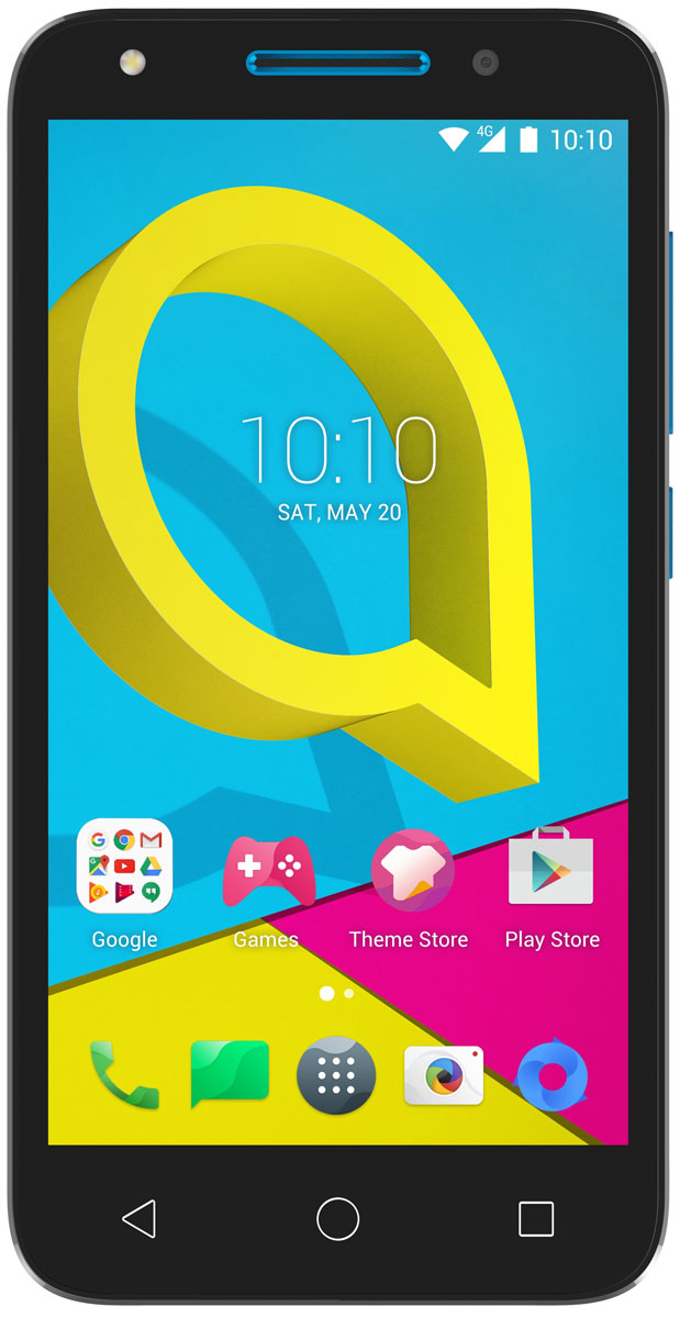 Alcatel OT-5044D U5, Sharp Blue