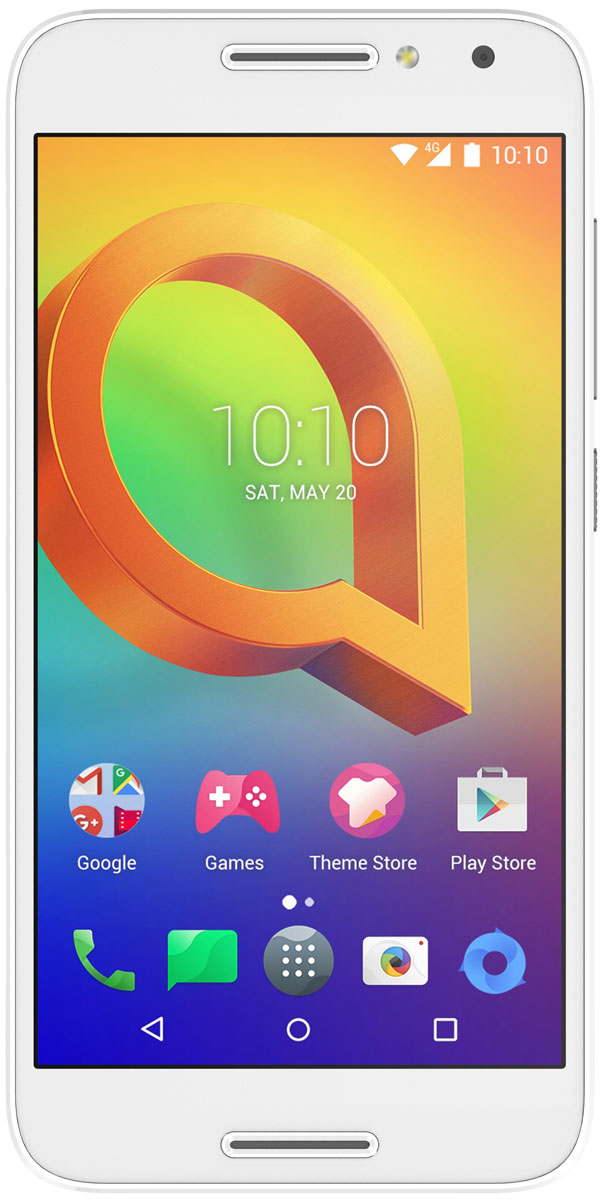 Alcatel OT-5046D A3, Pure White