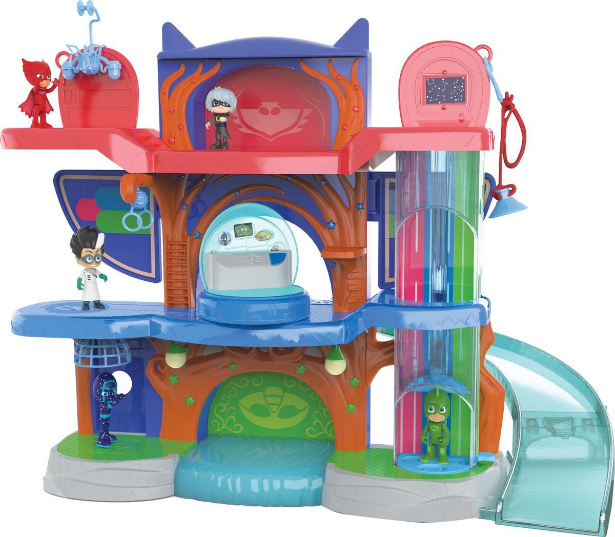 PJ Masks Игровой набор Штаб героев игровой набор poli штаб квартира