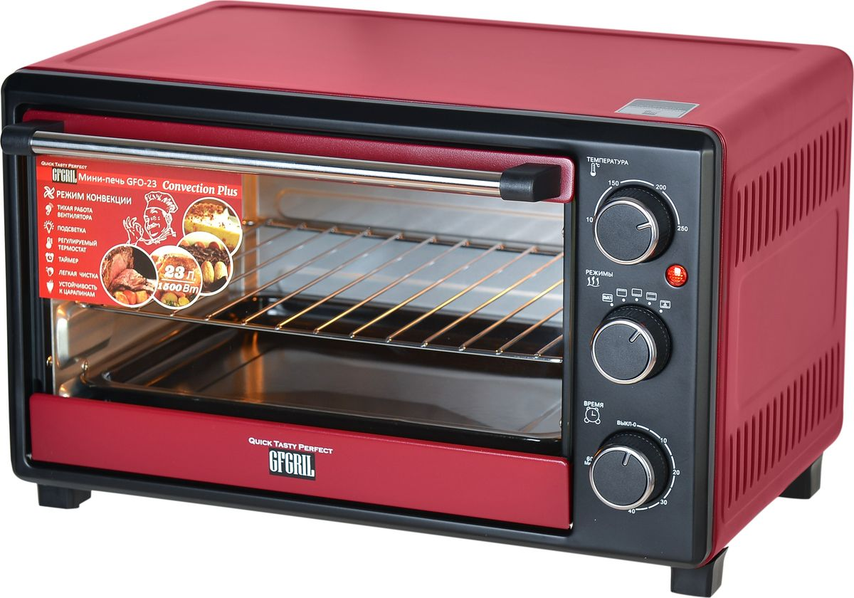GFgril GFO-23 Convection Plus мини-печь - Мини-печи