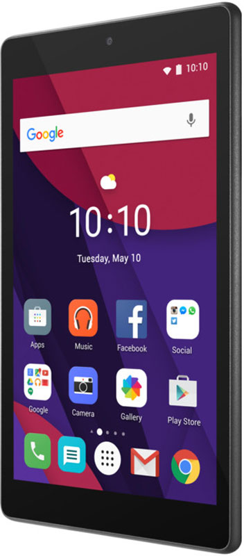 Alcatel OT-8063X Pixi 4, Smoky Grey