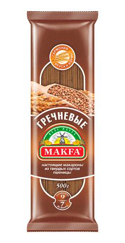 Makfa вермишель длинная гречневая, 500 г makfa гречневая ядрица 800 г