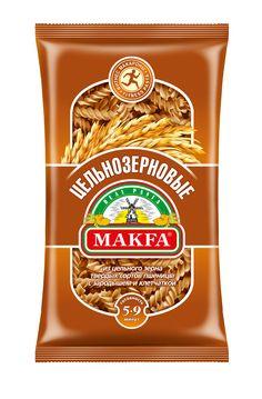 Makfa cпирали цельнозерновые, 450 г