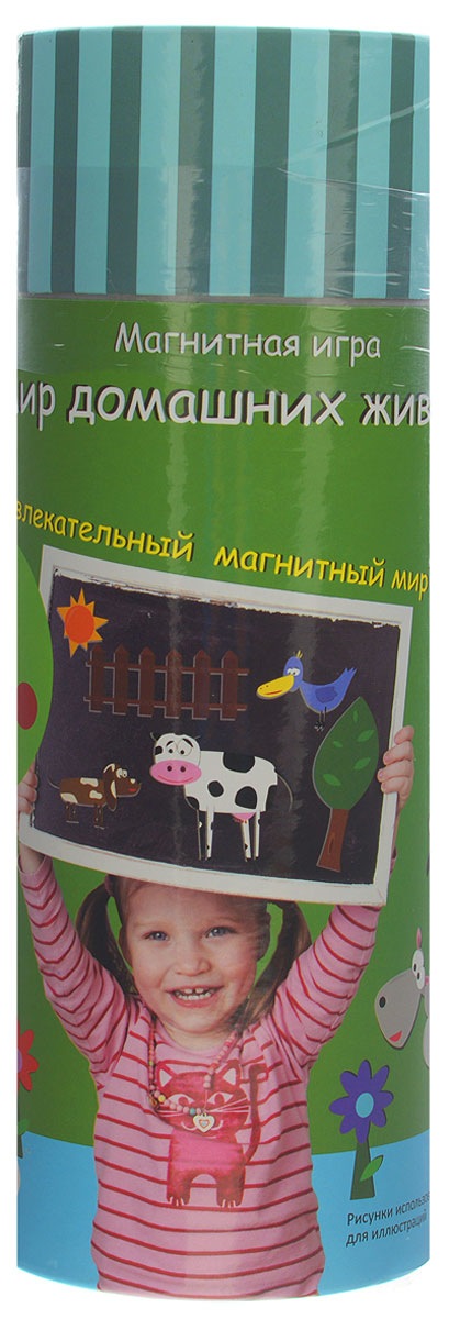 The Purple Cow Магнитная игра Мир домашних животных the purple cow пазл белоснежка the purple cow