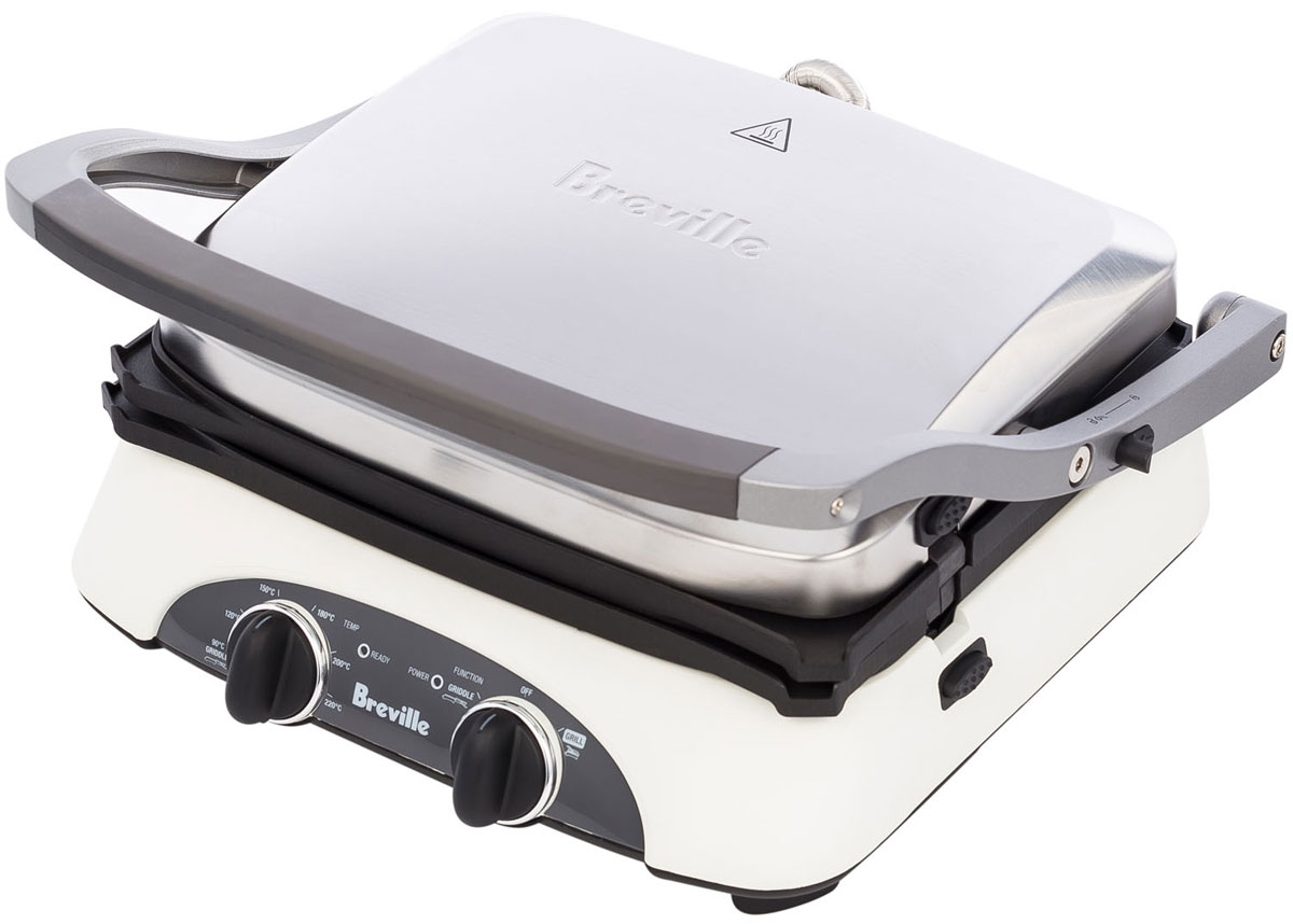 Breville G360 электрогриль stainless steel electric grill griddle teppanyaki griddle dorayaki grill machine with double temperature controllers