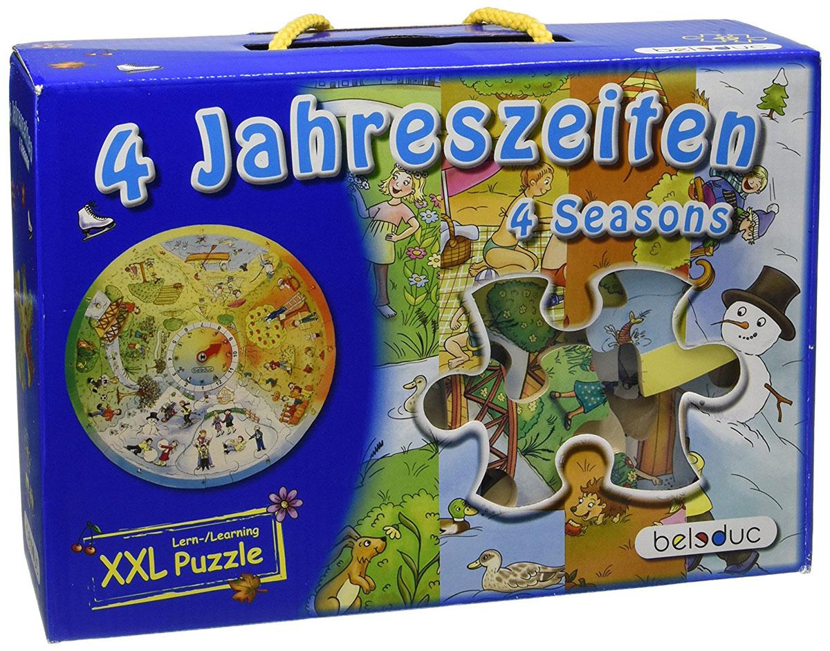 Beleduc Пазл для малышей 4 сезона learning journey пазл для малышей озорные фигуры 4 в 1