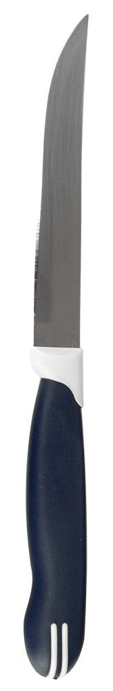 Нож для овощей Regent Inox Talis, длина лезвия 11 см93-KN-TA-5Нож для овощей Regent Inox Talis выполнен из нержавеющей стали, которая не подвергается коррозии и является гигиеничной. Сталь также обладает высокой прочностью и износостойкостью. Эргономичная ручка ножа выполнена из прочного пластика. Нож можно мыть в посудомоечной машине. Он не впитывает запахи и сохраняет естественный вкус продуктов.Длина ножа: 22 см.