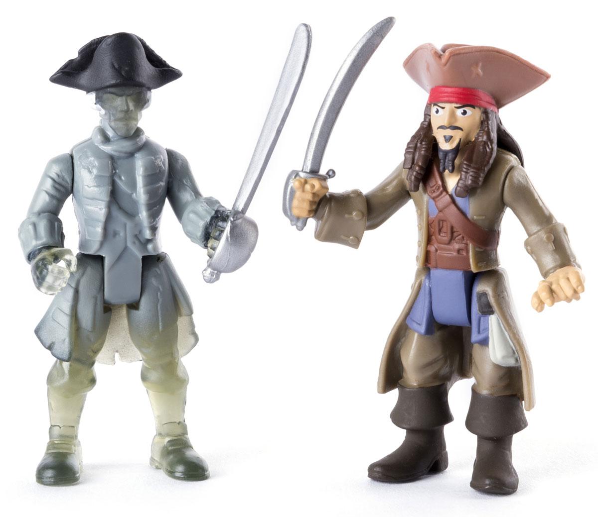 Pirates of Caribbean Набор фигурок Jack Sparrow Vs. Ghost Crewman черная жемчужина корабль капитана джека воробья